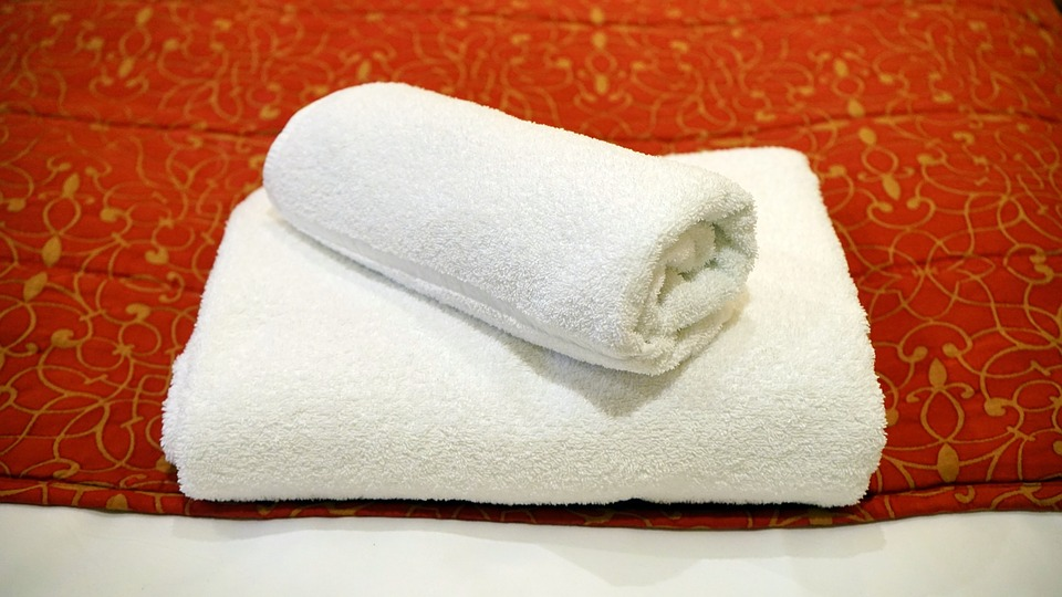 Towel, White, Luxury, Interior, Comfortable, Room