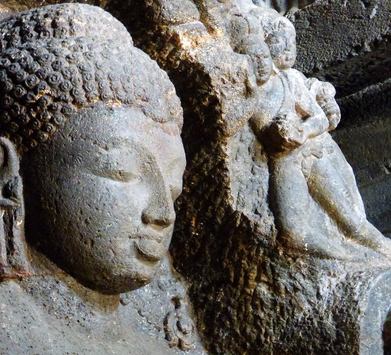 Ajanta Ellora Cave Sculpture Rock - Free photo on Pixabay