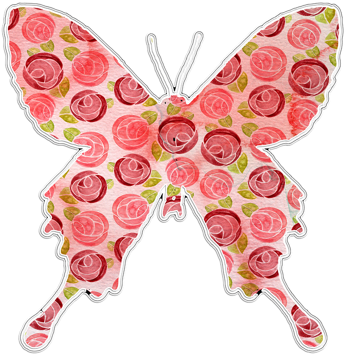 free illustration butterfly  pink  floral clipart free free picnic clipart for kids free picnic clipart for kids