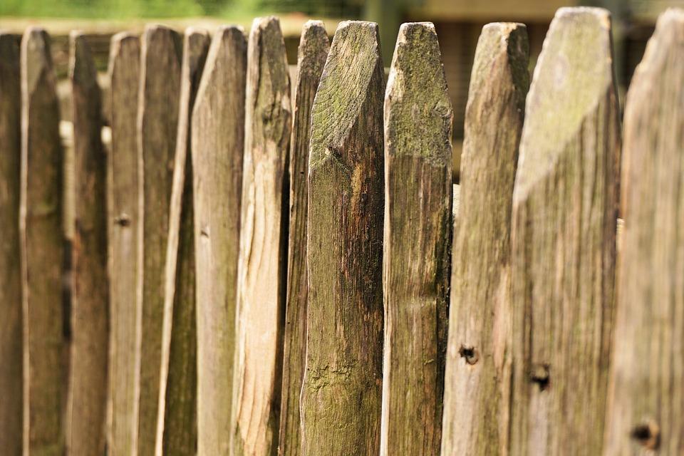 fence wood battens 183 free photo on pixabay