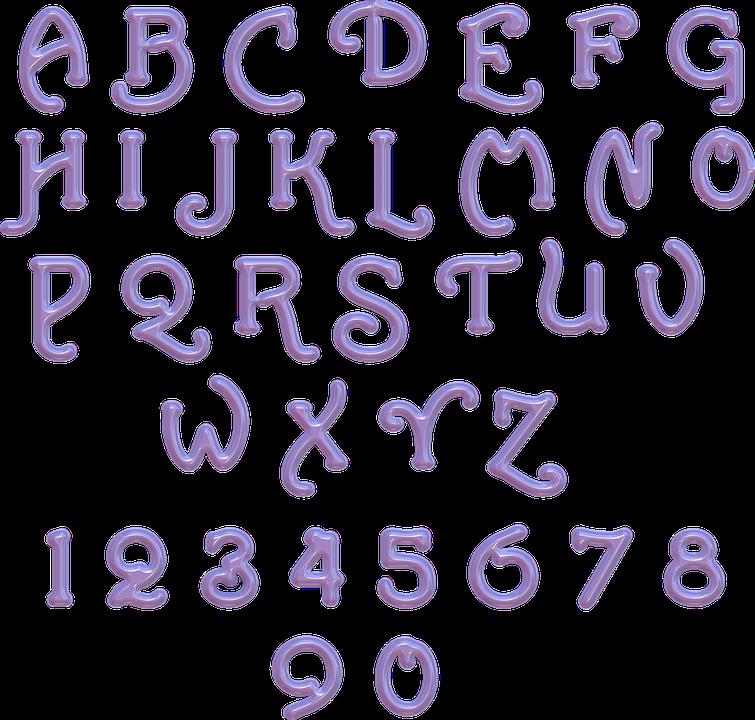 Alphabet Buchstaben Zahlen Kostenloses Bild Auf Pixabay