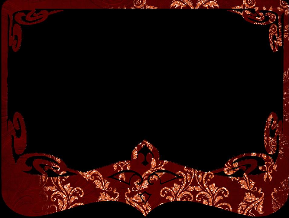 Rahmen Rot Dekorativ · Kostenloses Bild auf Pixabay