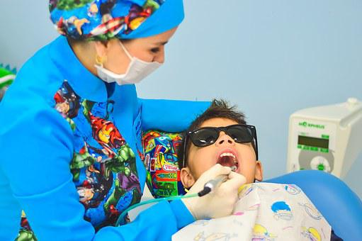 Dentist, Child, Dental Care, Dentist