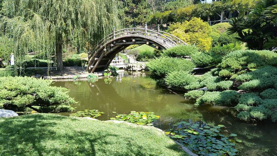 japons jardn zen estanque oriental