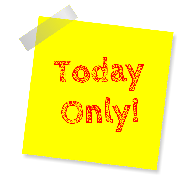 Today Only, Deal Of The Day, Deal, Sale, Special