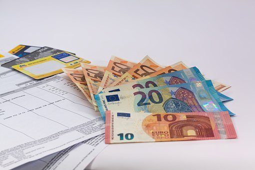 Dinheiro, Euro, Moeda, Europa