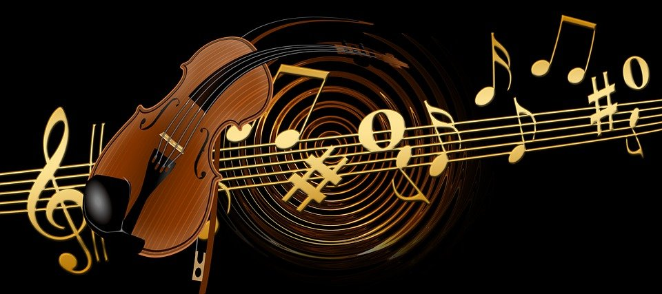 Vioara Abstract Muzică Arta Imagine Gratuită Pe Pixabay