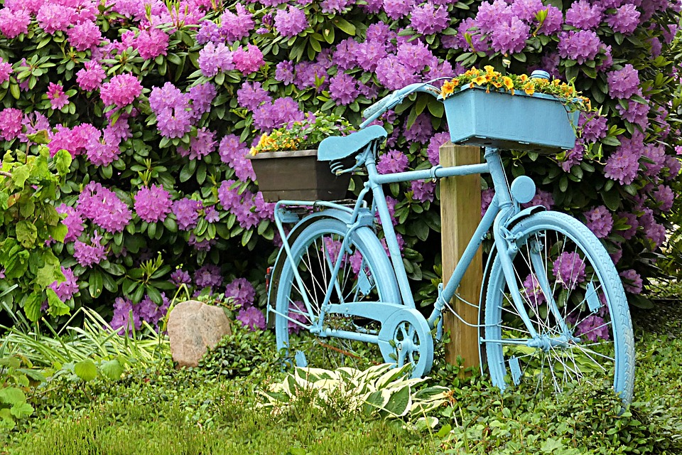 Velo decoration jardin for Decoration jardin velo