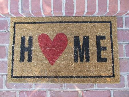 Home, Welcome Mat, Entrance