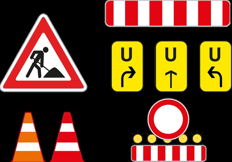 Baustelle schild clipart  Baustelle - Kostenlose Illustrationen auf Pixabay