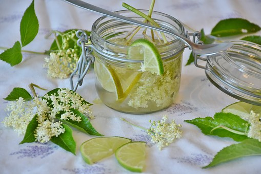 Старший, Elderflower, Сироп, Буфет