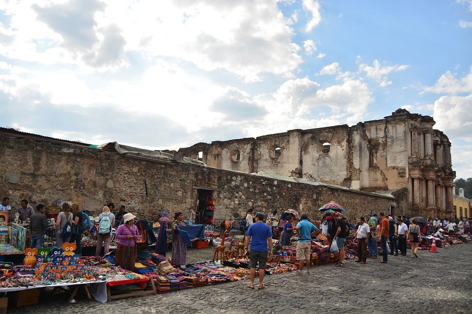 Antigua Guatemala, Ruiny, Gwatemala, Relikt