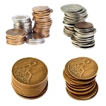 penny, coins
