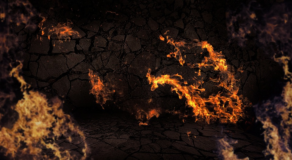 Flame background fire free photo on pixabay flame background fire burn hot heat stone wall voltagebd Images