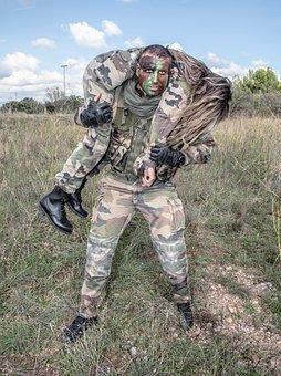 Army Rescue Military Scene Of War Uniform