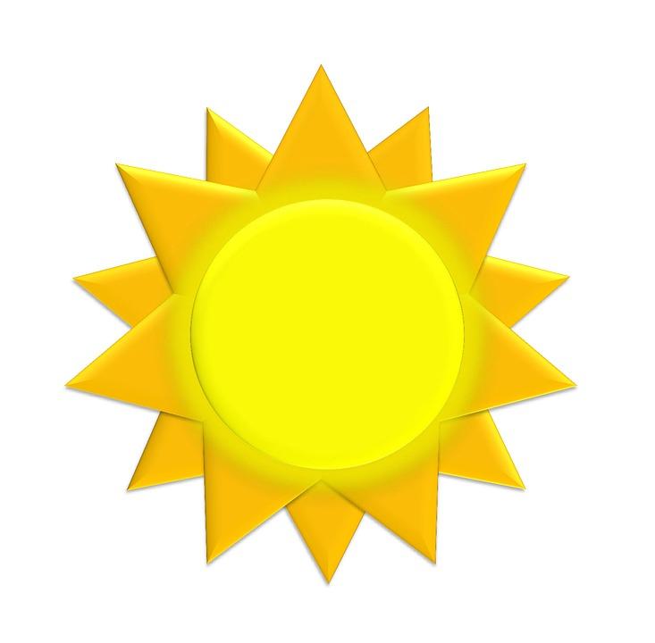Рисунок солнце для детей