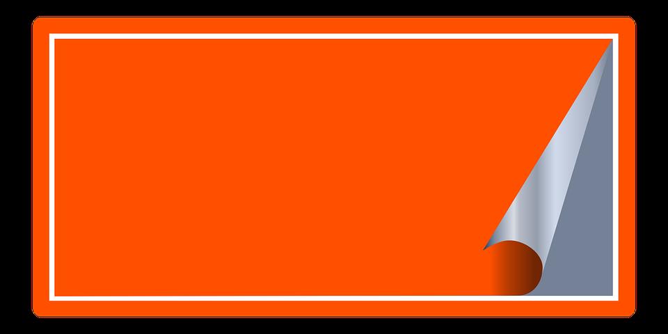 Ilustraci n gratis adhesivo etiquetas oficina imagen for Oficina de orange