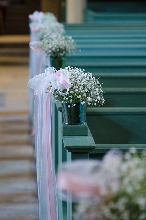 Hochzeit Trauung Dekoration Kostenloses Foto Auf Pixabay