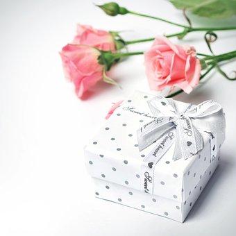 Cadeau, Fleurs, Roses, Bud, Belle