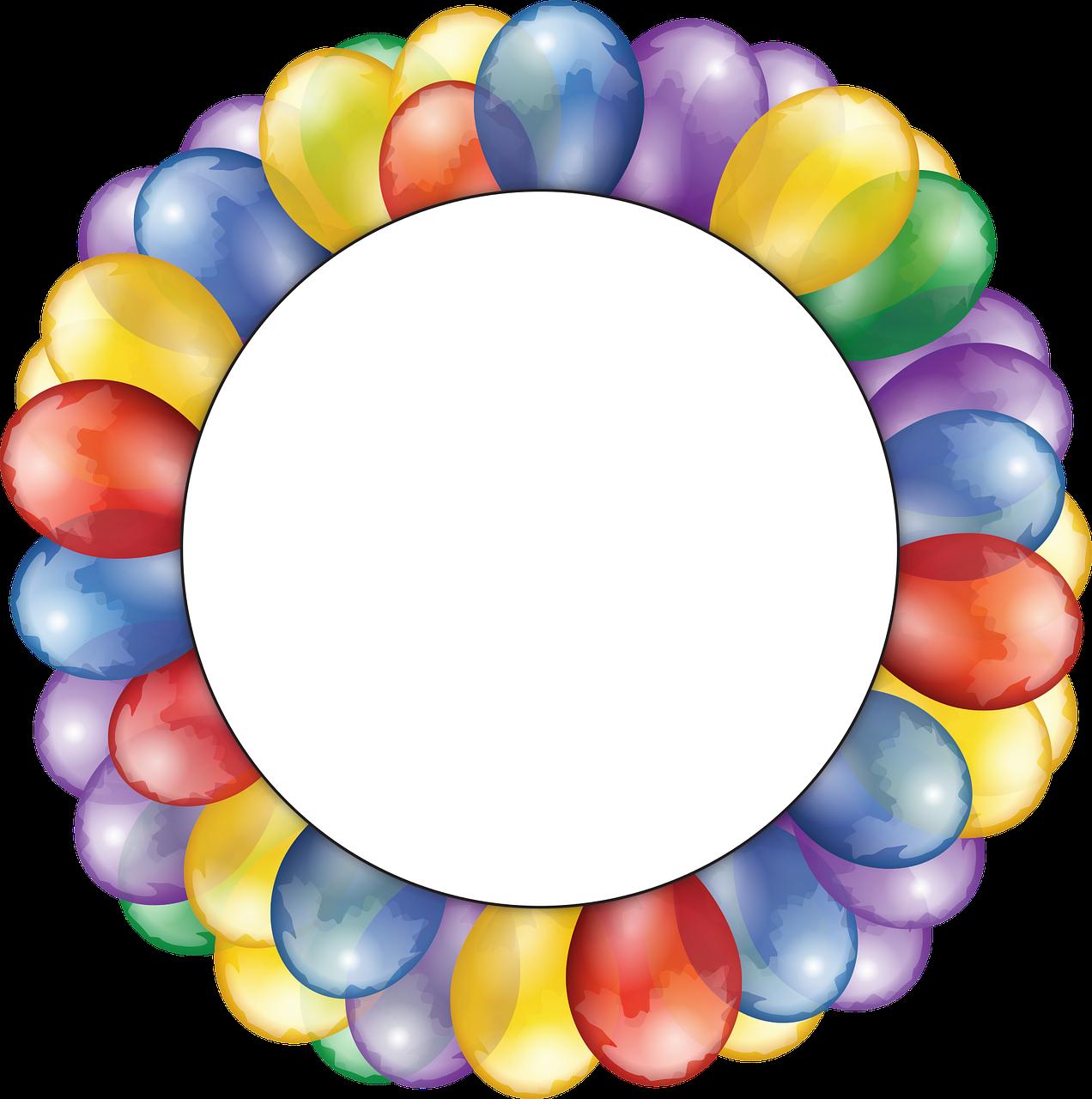 Фоторамки шаблоны круглые
