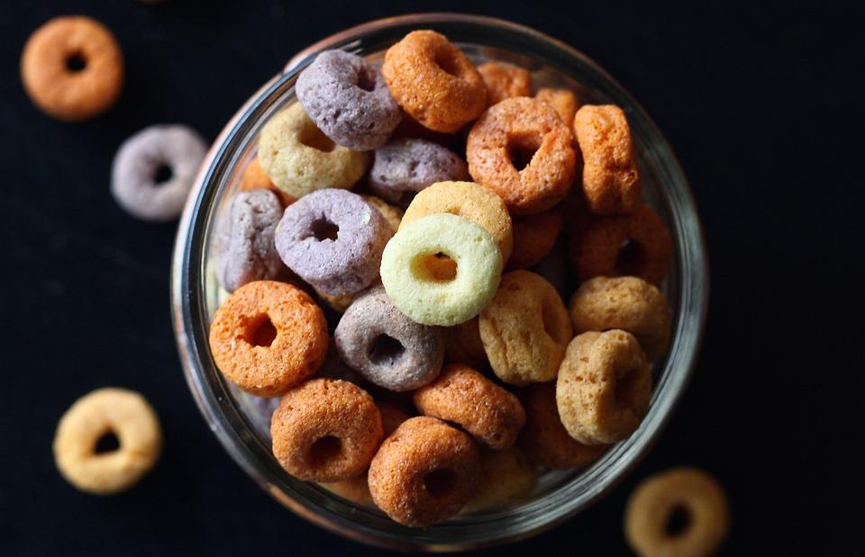 Каша, Cheerios, Дети, Ребенок, Утром, Питание, Завтрак