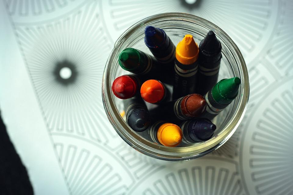 クレヨン 塗り絵の本 着色 Pixabayの無料写真
