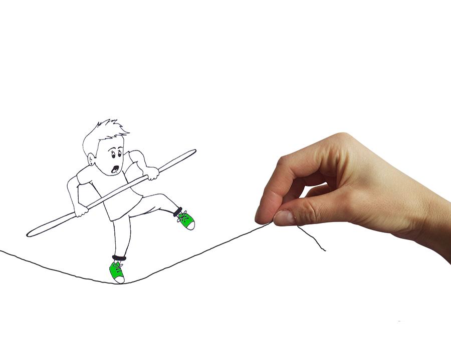 Equilibrist Mão Desenho - Imagens grátis no Pixabay