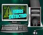 computer, virus, trojan