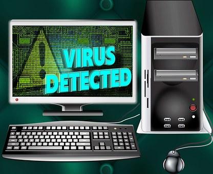 Computer, Virus, Trojan, Program