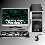 computer, virus, hacking