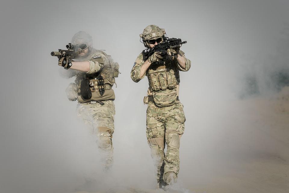 戦争, 砂漠, 銃, Gunshow, 兵士, アクション, 煙, 砂, 自由, アクティブ, アドベンチャー