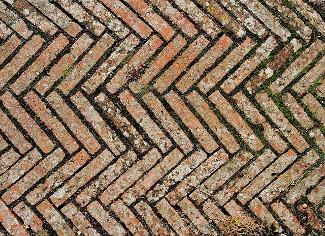 free photo  bricks  diagonal  chevron  tiles - free image on pixabay