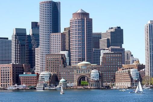 Boston Water Front City Architecture Bosto