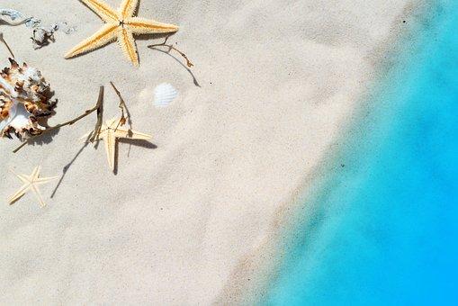 Pantai, Hari Libur, Laut, Musim Panas