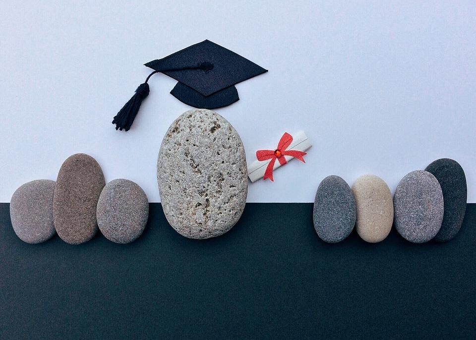 卒業, 卒業証書, 教育, 達成, 大学院, 証明書, 学術, 石, アート