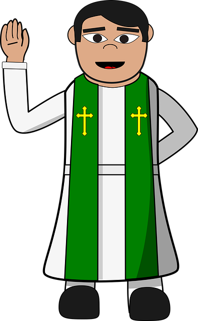 free vector graphic pastor  priest  christian  cartoon priest clipart gif priest clip art templates
