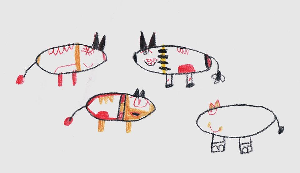 учиться рисовать и видеть как дети