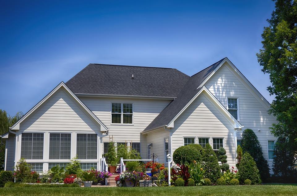 House, Backyard, Home, Yard, Garden, Architecture