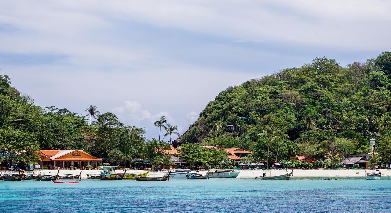 Thailand Phuket Koh Phi Island - Free photo on Pixabay