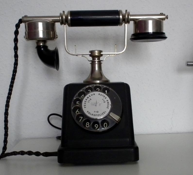 Free Photo Phone Old Telephone Nostalgia Free Image