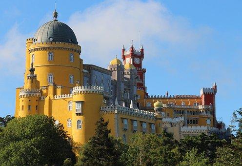Palacio da Pena, Sintra, Lisboa, Portugal