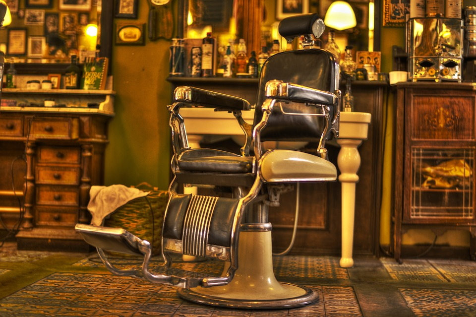 Barber, Chair, Salon, Hairdresser, Shop, Beard, Male