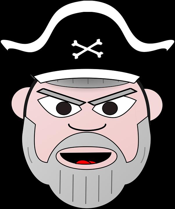 Korsan Kaptan Eski Pixabayda ücretsiz Vektör Grafik