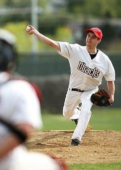 Baseball, Pitcher, Pitcher'S Mound