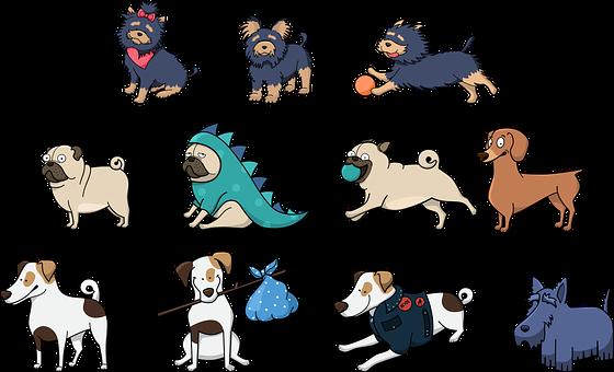 900 Free Dog Animal Vectors Pixabay