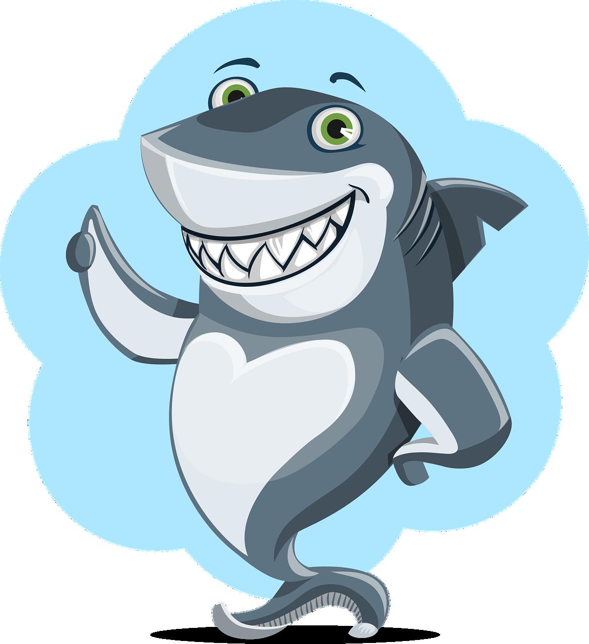 Shark Animal Character - Free vector graphic on Pixabay