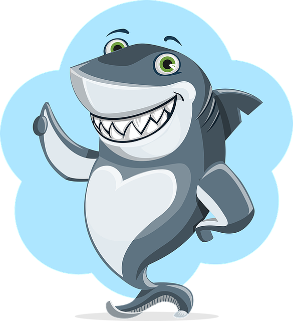 Free vector graphic: Shark, Animal, Character, Cute - Free ...