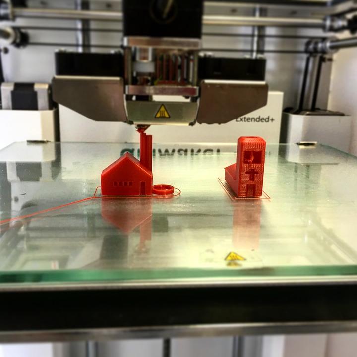 Impresora, 3D, Fabricación, Presión, Impresión En 3D