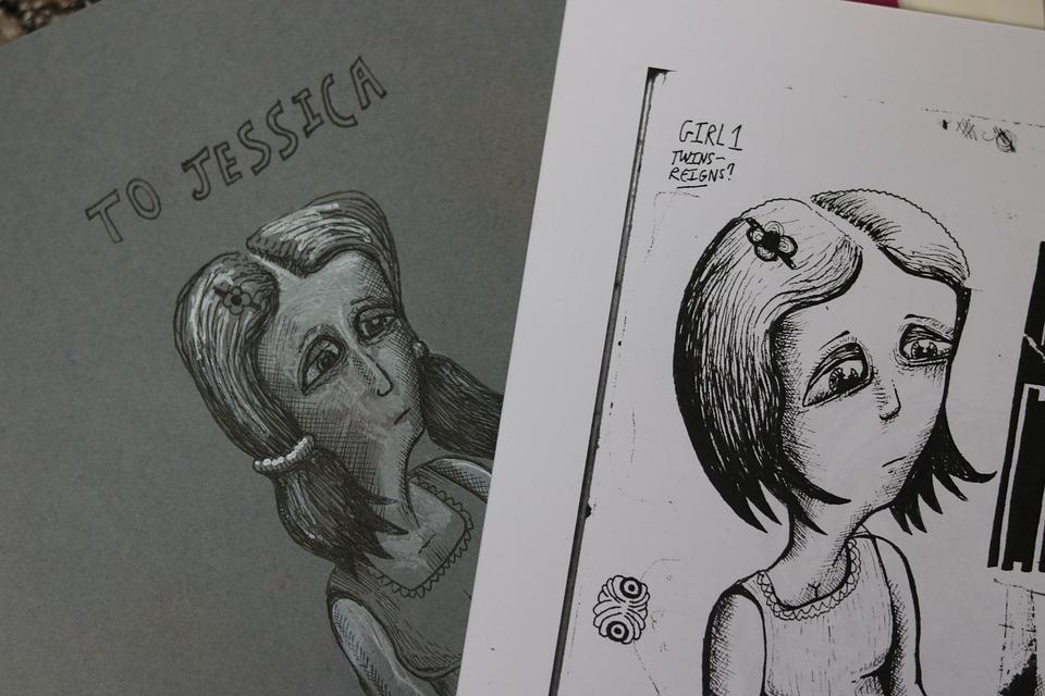 Quadrinhos Menina Triste Desenho Foto Gratuita No Pixabay
