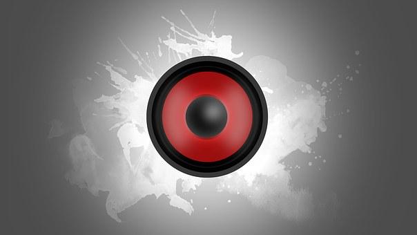 Speakers, Box, Music, Sound, Volume